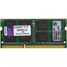 Память для ноутбука Kingston DDR3 1600 8GB 1.5V, Retail (KVR16S11/8)